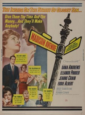 Madison Avenue movie poster (1962) poster MOV_9bec30cd