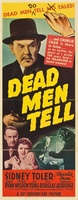 Dead Men Tell movie poster (1941) picture MOV_3e633670