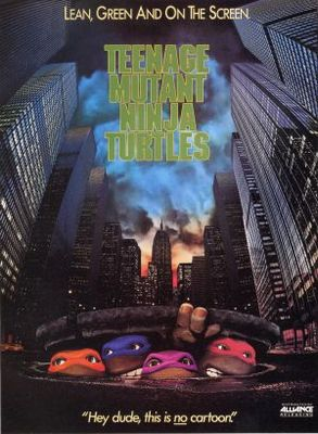 Teenage Mutant Ninja Turtles movie poster (1990) poster MOV_9c043355