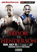 Strikeforce M-1 Global: Fedor vs. Henderson movie poster (2011) picture MOV_9c15640d