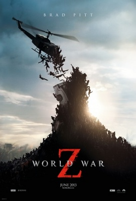 World War Z movie poster (2013) poster MOV_9c1db01f