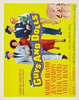 Guys and Dolls movie poster (1955) picture MOV_9c21ebd3