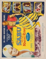 Sabu and the Magic Ring movie poster (1957) picture MOV_9c274811