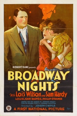Broadway Nights movie poster (1927) poster MOV_9c3eef6f
