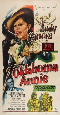 Oklahoma Annie movie poster (1952) poster MOV_9c4a24a1