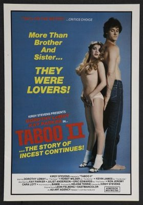Taboo II movie poster (1982) poster MOV_9c5451b8