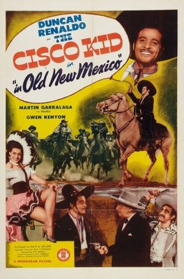 The Cisco Kid in Old New Mexico movie poster (1945) poster MOV_9c79021e