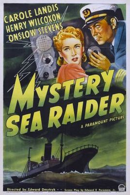 Mystery Sea Raider movie poster (1940) poster MOV_9c80829a