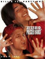 Bill & Ted's Bogus Journey movie poster (1991) picture MOV_9ca21106