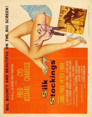 Silk Stockings movie poster (1957) poster MOV_9cafdce5