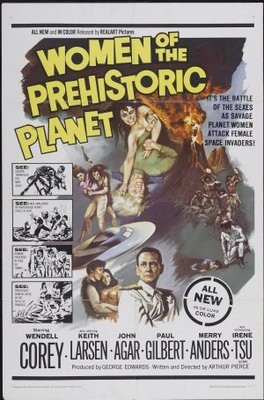 Women of the Prehistoric Planet movie poster (1966) poster MOV_9cc93384