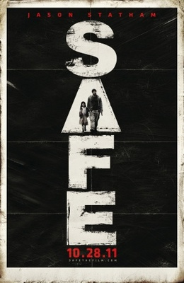 Safe movie poster (2011) poster MOV_9cd24192