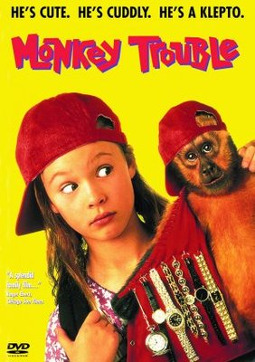 Monkey Trouble movie poster (1994) poster MOV_9cd2a58b