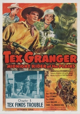 Tex Granger, Midnight Rider of the Plains movie poster (1948) poster MOV_9cdd2418
