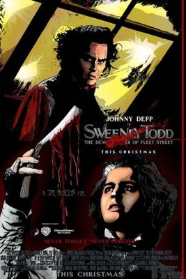 Sweeney Todd: The Demon Barber of Fleet Street movie poster (2007) poster MOV_9cdfd286