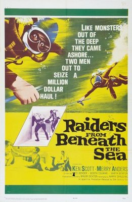 Raiders from Beneath the Sea movie poster (1964) poster MOV_9cec1146