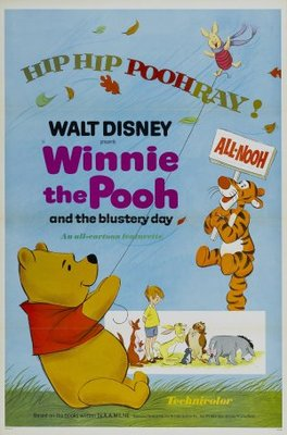 Winnie the Pooh and the Blustery Day movie poster (1968) poster MOV_9cf2317a