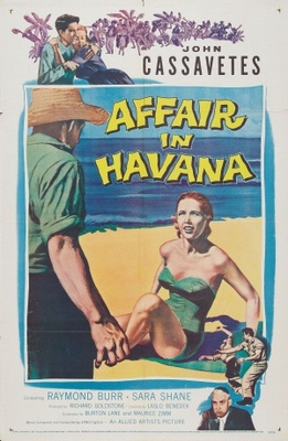 Affair in Havana movie poster (1957) poster MOV_9cfe0c51