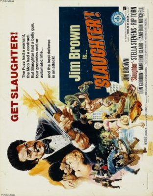 Slaughter movie poster (1972) poster MOV_9d18053b