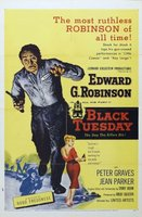 Black Tuesday movie poster (1954) picture MOV_9d1befef