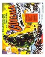 Godzilla, King of the Monsters! movie poster (1956) picture MOV_9d2b0257