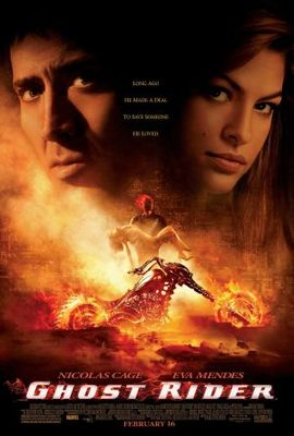 Ghost Rider movie poster (2007) poster MOV_9d30cdc6