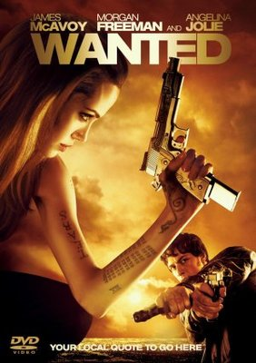 Wanted movie poster (2008) poster MOV_9d32aa38