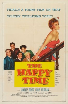 The Happy Time movie poster (1952) poster MOV_9d3ef098