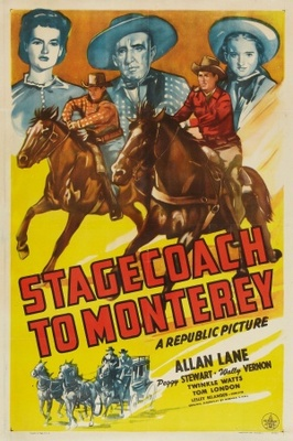 Stagecoach to Monterey movie poster (1944) poster MOV_9d55ff3c