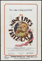 The Nine Lives of Fritz the Cat movie poster (1974) picture MOV_9d622509