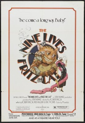 The Nine Lives of Fritz the Cat movie poster (1974) poster MOV_9d622509