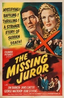 The Missing Juror movie poster (1944) picture MOV_9d70f203