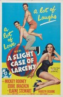 A Slight Case of Larceny movie poster (1953) picture MOV_9d7c9a9f