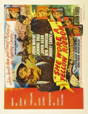 She Wore a Yellow Ribbon movie poster (1949) poster MOV_9d81a8d0