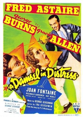 A Damsel in Distress movie poster (1937) poster MOV_9d91b91f