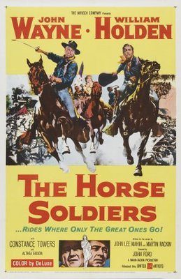 The Horse Soldiers movie poster (1959) poster MOV_9da3bc36