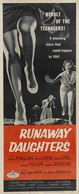 Runaway Daughters movie poster (1956) poster MOV_9dae7954