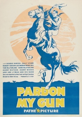 Pardon My Gun movie poster (1930) poster MOV_9dc473cd