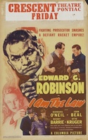 I Am the Law movie poster (1938) picture MOV_9dc9cd8e
