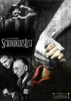 Schindler's List movie poster (1993) poster MOV_9dd74020