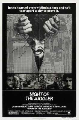 Night of the Juggler movie poster (1980) poster MOV_9dd9292a