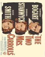 The Two Mrs. Carrolls movie poster (1947) picture MOV_9de25333