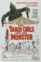 The Beach Girls and the Monster movie poster (1965) picture MOV_9deb75de