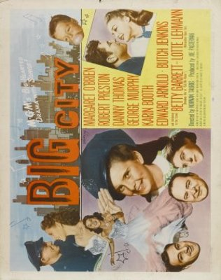 Big City movie poster (1948) poster MOV_9dfd7b16