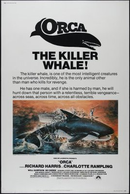 Orca movie poster (1977) poster MOV_9e0185b0