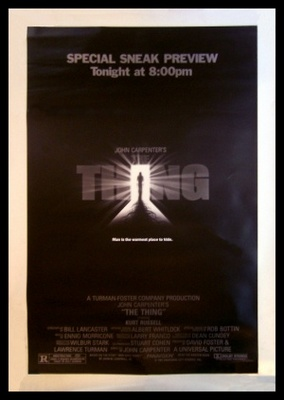 The Thing movie poster (1982) poster MOV_9e1008b9