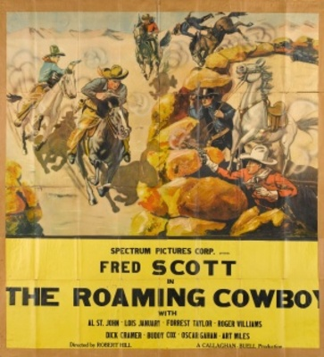 The Roaming Cowboy movie poster (1937) poster MOV_9e195b2d