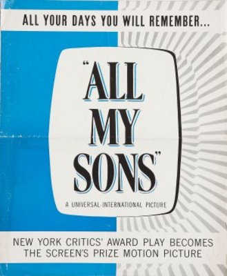 All My Sons movie poster (1948) poster MOV_9e2b44d1