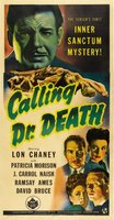 Calling Dr. Death movie poster (1943) picture MOV_9e2e8f2e