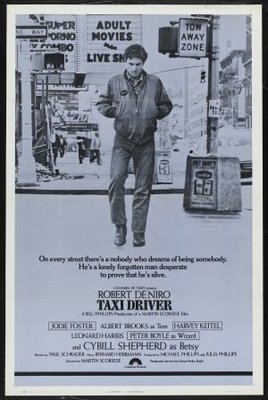 Taxi Driver movie poster (1976) poster MOV_9e3745a0